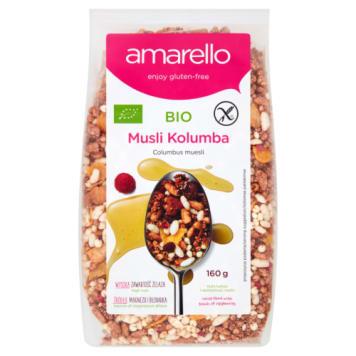 AMARELLO Musli BIO free gluten 160g