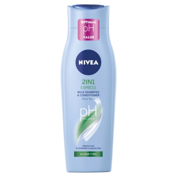 NIVEA 2in1 Express Shampoo with conditioner for all hair types 250 ml