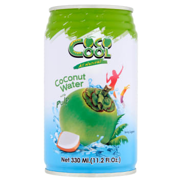 COCO COOL Coconut water with pieces of coconut 330ml