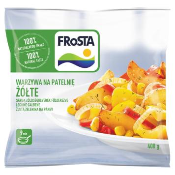 Mrożone warzywa na patelnię-Frosta. To szybki i smaczny sposób na prosty i wartościowy posiłek.