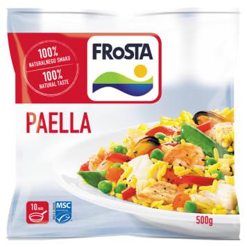 Tradycyjne danie hiszpańskie - Frosta Paella. Szybkie danie, niepowtarzalny smak.