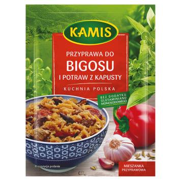 Kamis - Przyprawa do bigosu i potraw z kapusty. Nadaje smak ulubionej potrawie Polaków.
