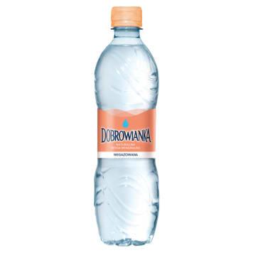 Niegazowana woda mineralna - Dobrowianka. Dodaje energii i orzeźwia.