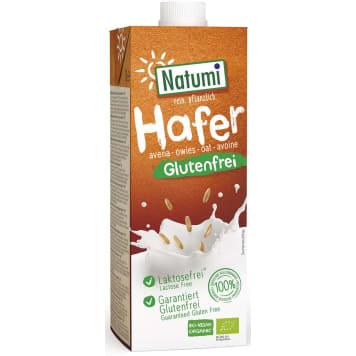 Bezglutenowy napój owsiany, 1000 ml - Natumi. Pyszne mleczko roślinne z owsa.