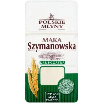 POLSKIE MŁYNY Mąka pszenna krupczatka Szymanowska typ 450 1kg