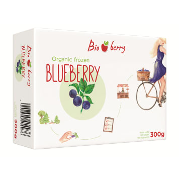 BIO BERRY Berries frozen BIO 300 g