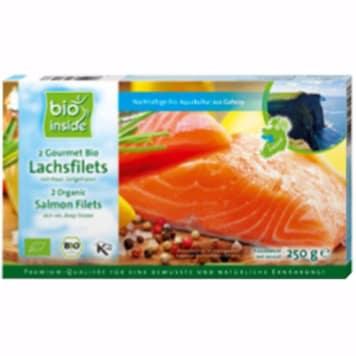 BIO INSIDE Salmon filets frozen BIO 250g