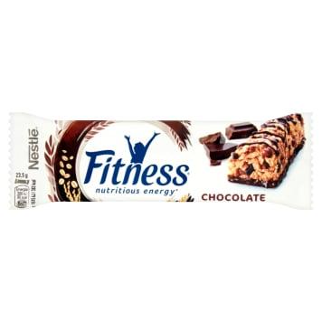 Nestlé Fitness - Baton z czekoladą 23 g. Słodka przekąska dla osób dbających o linię.