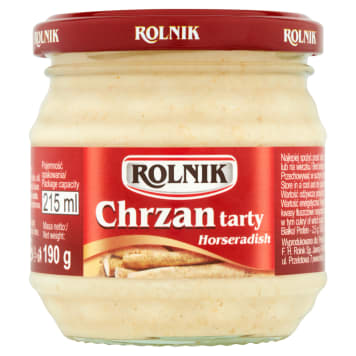 Chrzan tarty - Rolnik
