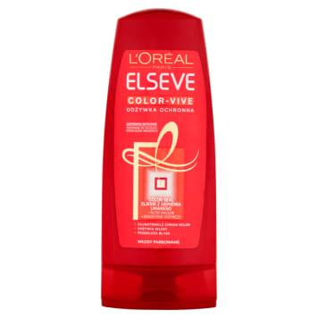 Odżywka ochronna 200 ml - L'Oréal Paris Elsève Color-Vive: proram ochrony Twoich włosów