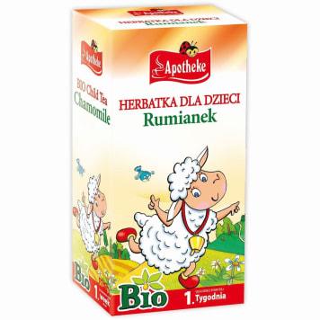 Herbatka rumiankowa dla dzieci po 1 tyg. , Bio - Apotheke. Produkt o właściwościach prozdrowotnych.