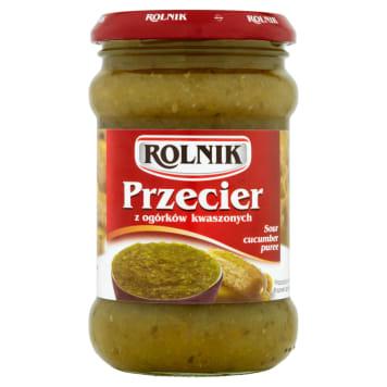 ROLNIK - przecier z ogórków kwaszonych. Tradycyjny smak ogórków