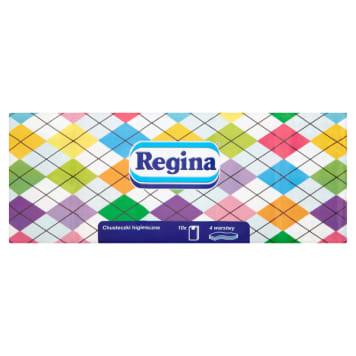 Regina - Chusteczki higieniczne 10x9 szt. Praktyczne i wytrzymałe chusteczki.