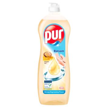 Pur Argan Oil - płyn do mycia naczyń, 900 ml. Delikatny dla skóry, skuteczny dla brudu.