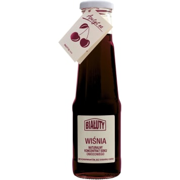BIAŁUTY Cherry juice concentrate 305ml