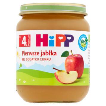 Pierwsze Jabłka Bio-Hipp owoce. Pyszny deser z dodatkiem witaminy C.