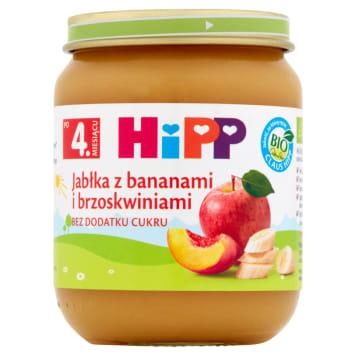 Hipp - Owoce dla dzieci po 4 miesiącu życia. Wytworzone z myślą o najmłodszych.