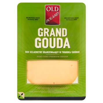 Ser Grand Gouda - Odl Poland. Idealny składnik wielu potraw zapiekanych w piekarniku.