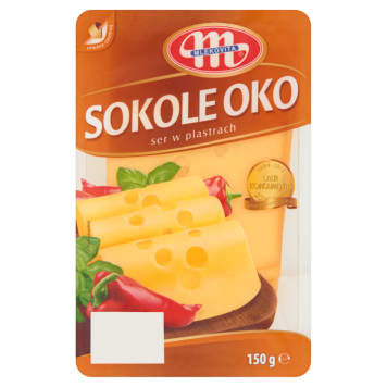 MLEKOVITA Sokole Oko Cheese Slices 150 g