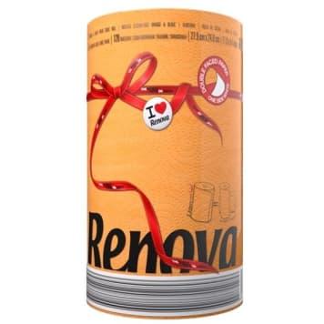 RENOVA Red Label Ręcznik papierowy Orange 1szt