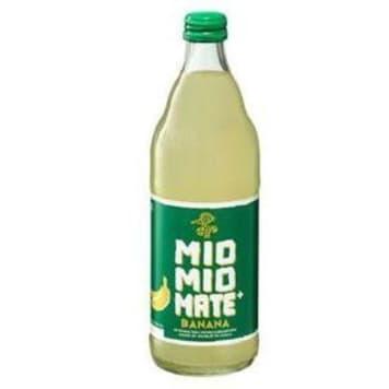 MIO MIO MATE Soda flavored with banana flavor 500ml
