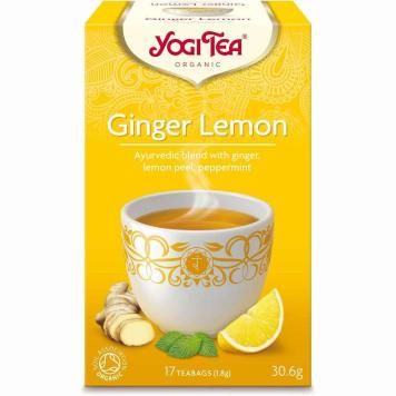 YOGI TEA Herbatka imbirowo-cytrynowa BIO 33g