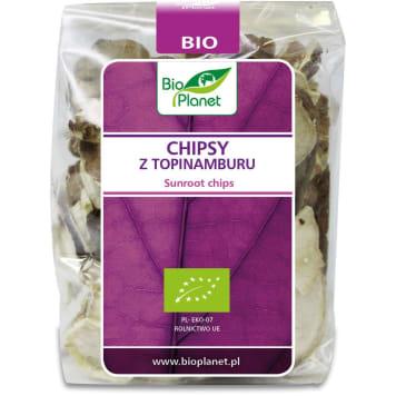 BIO PLANET Jerusalem artichoke chips BIO 50g