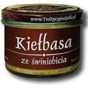 TRADYCYJNE JADŁO Sausage from pigs free-gluten 180g