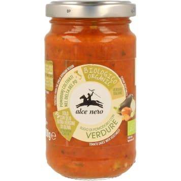 Sos pomidorowy z warzywami Bio - Alce Nero. Naturalny smak pomidorów.