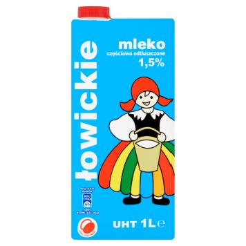 OSM Łowicz - Mleko UHT 1,5%. Najwyższej jakości mleko o doskonałym smaku.