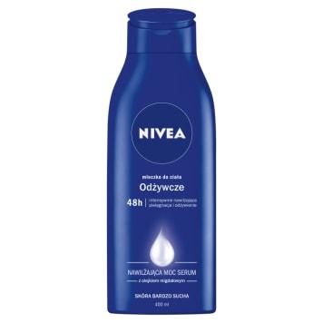 Mleczko do ciała - Nivea. Doskonale oczyszcza i nawilża.