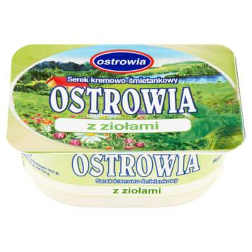 Serek kremowo-śmietankowy - Ostrowia. Dobry początek kadego dnia.