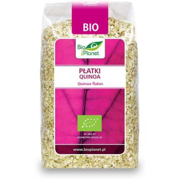 Płatki quinoa bio - Bio Planet. Ekologiczne płatki, które możesz dodać do wielu potraw.