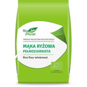 Mąka ryżowa pełnoziarnista - BIO PLANET. Mąka z ryżu.