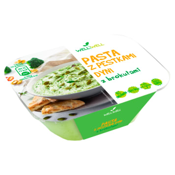 WELL WELL Paste with pumpkin seeds with sprouting broccoli 125g