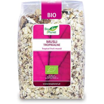 Musli tropikalne - Bio Planet. Zdrowy i smaczny posiłek na każdy poranek.