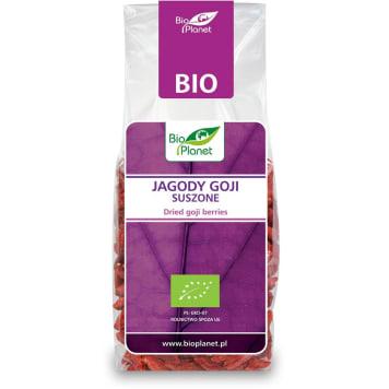 Jagody Goji Bio Planet to wyjątkowo odżywcze owoce kolcowoja pospolitego. Produkt ekologiczny.