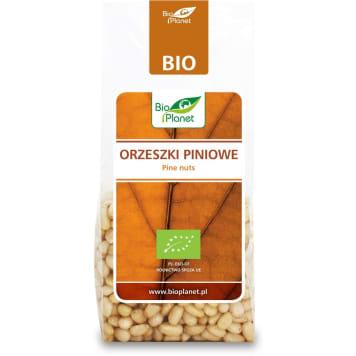 Orzechy piniowe bez łusek BIO 100 g - Bio Planet. Pochodzą z sosny syberyjskiej.