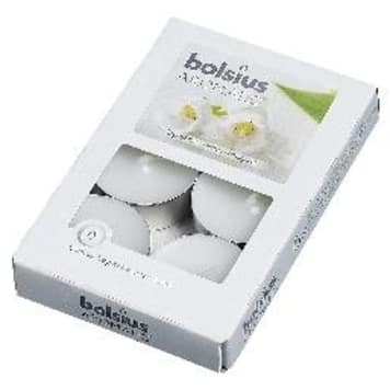 BOLSIUS White candles smell of lily of the valley 1 pc