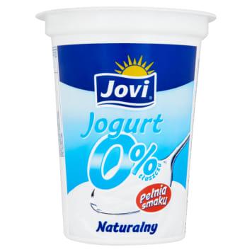 Naturalny Jogurt pitny 0% - Jovi. Pożywny produkt bez cukru.