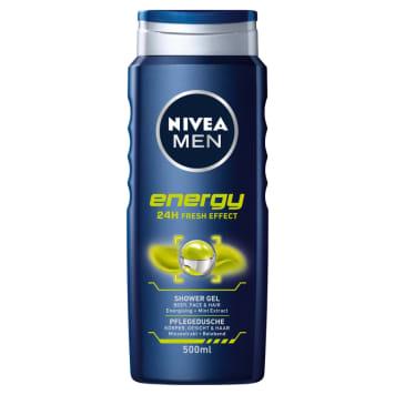 Nivea Men - Żel pod prysznic 500ml. Do codziennej pielęgnacji skóry ciała.