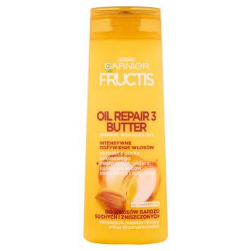 GARNIER FRUCTIS Oil Repair 3 Butter Strengthening Shampoo for Damaged Hair 400ml