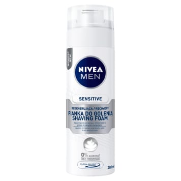 NIVEA SENSITIVE RECOVERY Soothing shaving foam 200 ml