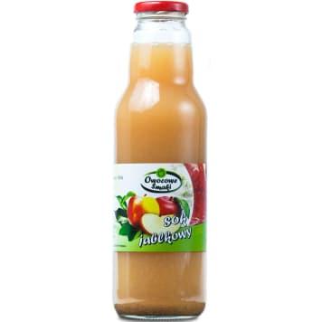 Sok jabłkowy Bio Owocowe Smaki to doskonały smak owoców bez dodatku cukru.