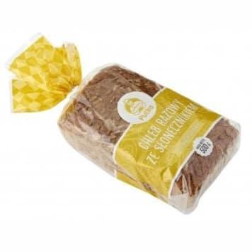 Chleb słonecznikowy - Putka. Chleb razowy o doskonałej przedwojennej recepturze.