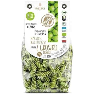 FABIJAŃSCY Macaroni with green peas gluten free 250g