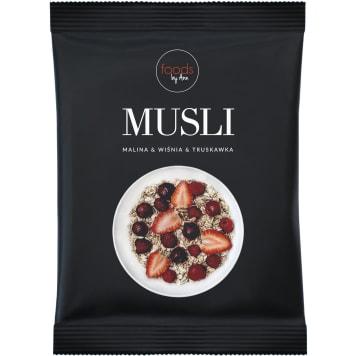 FOODS BY ANN Muesli Raspberry & Cherry & Strawberry 50g