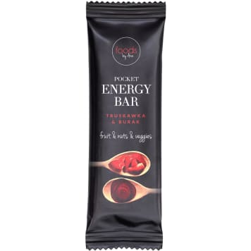 FOODS BY ANN Pocket Energy Bar Strawberry & Beetroot 35g