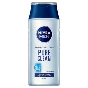 NIVEA Pure Clean Pielęgnacyjny szampon do włosów 400ml