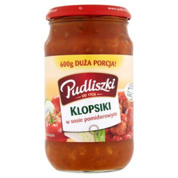PUDLISZKI Klopsiki w sosie pomidorowym 600g